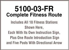 TimberForm 5100-03-FR, Complete Fitness Route