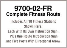 9700-02-FR, Complete Fitness Route