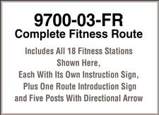 PipeLine 9700-03-FR, Complete Fitness Route